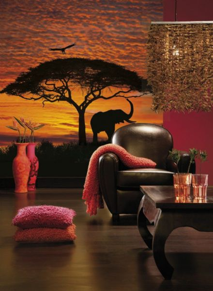 Wallpaper mural African Sunrise